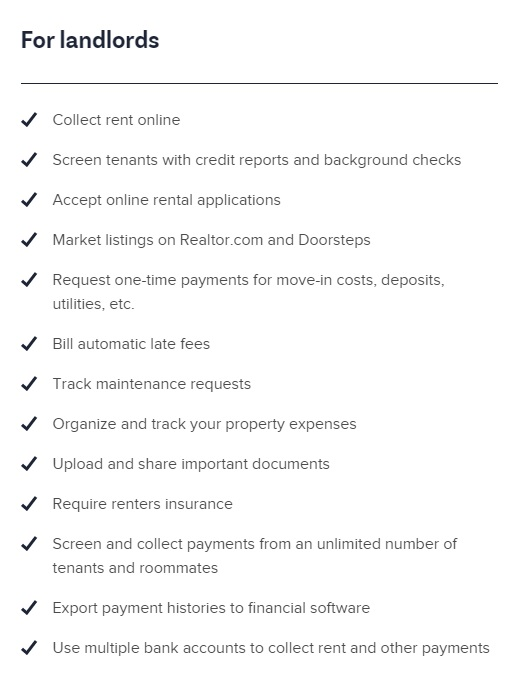 Benefits For Landlords