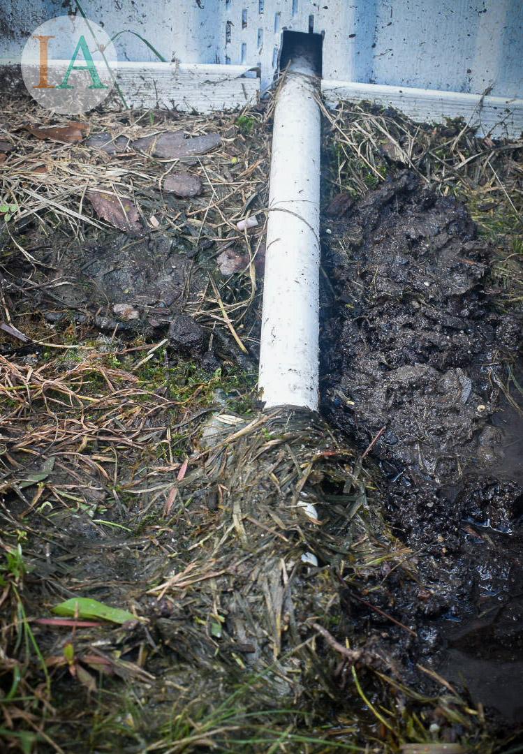 Clogged HVAC Drain Pipe